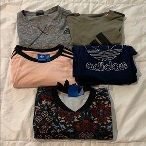 Men's Adidas Shirt Lot